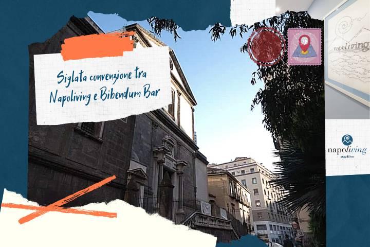 Siglata convenzione tra Napoliving e Bibendum Bar